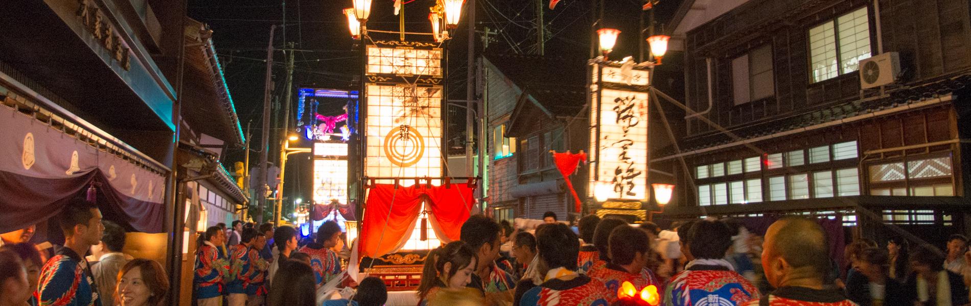 輪島・鳳至のキリコ祭り